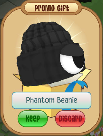 Phantom beanie animal jam wiki fandom powered by wikia - Animaljam wiki ...