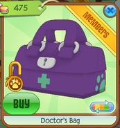 Medical-Center-Shop Doctors-Bag Purple