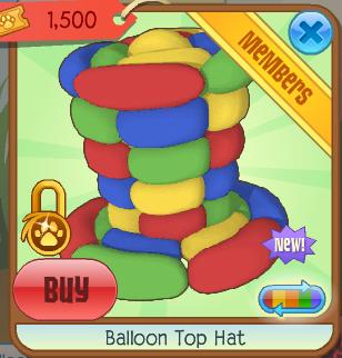 Image of: Worth Basic Information Animal Jam Wiki Fandom Balloon Top Hat Animal Jam Wiki Fandom Powered By Wikia