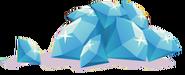 Diamond pile