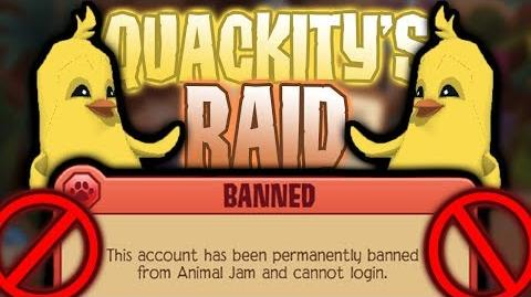 The Aftermath of the QuackityHQ Raid - Animal Jam