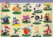 Animal jam Soccer Collection