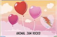 JAG Three heart balloons