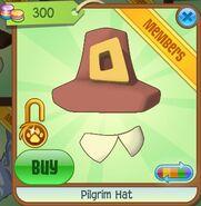 Pilgrim Hat (Light Brown)