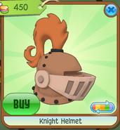 Shop Knight-Helmet Orange
