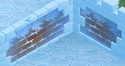 Snow-Fort Red-Brick-Walls