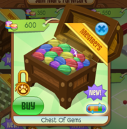 Chest Of Gems shop click