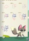 Fox art drawing guide