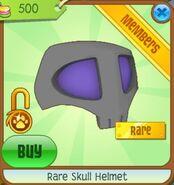 Rare Skull Helmet