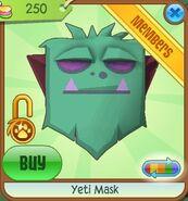 Yeti Mask new teal