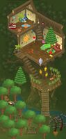 Kinyonga Tree House Den