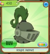 Shop Knight-Helmet Green