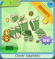 Diamond-Shop Clover-Gauntlets