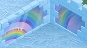 Snow-Fort Rainbow-Pink