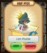 The-Claw Lion-Plushie King