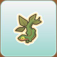 Jag Stamp leafy gecko