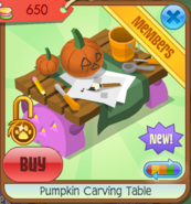 Pumpkin carving table 08