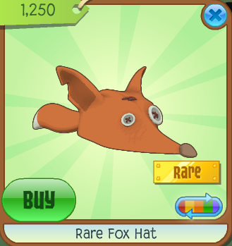 Image of: Cupcake Hat Basic Information Animal Jam Wiki Fandom Rare Fox Hat Animal Jam Wiki Fandom Powered By Wikia