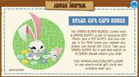 Jamaa-Journal Spring Bunny 2019