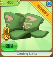 Shop Cowboy-Boots Green