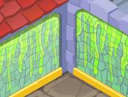 Sir-Gilberts-Palace Green-Slime-Wall