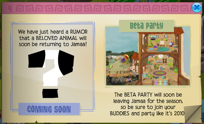 Beta Party Animal Jam Wiki FANDOM powered by Wikia