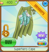 Bahari-Bargains Superhero-Cape Olive