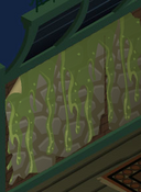 Epic-Haunted-Manor Green-Slime-Wall