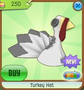 Turkey Hat grey