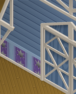 Ol-Barn Blue-Star-Walls