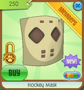Hockey Mask ed1 yellow