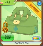 Medical-Center-Shop Doctors-Bag Green