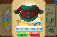 Daily-Spin-Gift Rare-Jamaaliday-Winter-Jacket