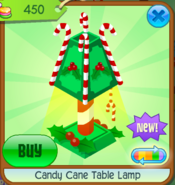 Candy Cane Table Lamp 3