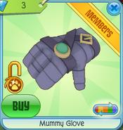 Diamond-Shop Mummy-Glove Purple
