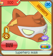 Superhero mask 07