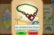 Daily-Spin-Gift Rare-Jamaaliday-Princess-Necklace