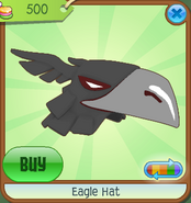 Museum-Shop Eagle-Hat Black