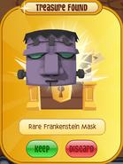 Forgotten-Desert-Prize Rare-Frankenstein-Mask Purple