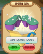 Member-Spin Rare-Sparkly-Shoes