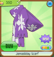 Shiveer-Shoppe Jamaaliday-Scarf Purple