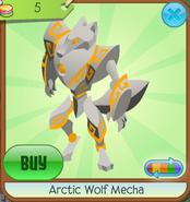 Arctic Wolf Mecha orange