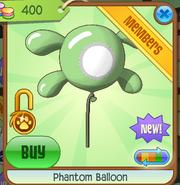 Phantom Balloon green