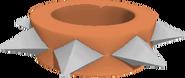Short wristband large orannge