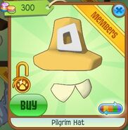 Pilgrim Hat (Yellow)