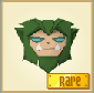 Werewolf-Mask Rare-Green Best-Dressed