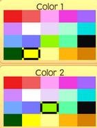 Pet seahorse colors