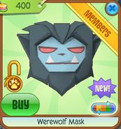 Werewolf Mask new cyan