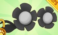 Flower Glasses Black
