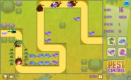 Gameplay of Pest Control